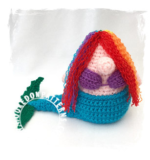 Free Doll Mermaid Crochet Pattern