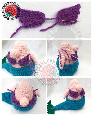 Mermaid Outfit Eve Gonk Crochet Pattern