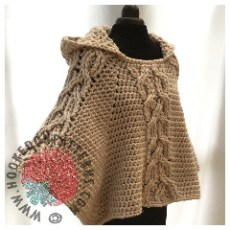 Milena Hooded Poncho Crochet Pattern