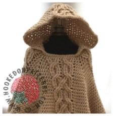 Poncho Crochet Crochet Pattern