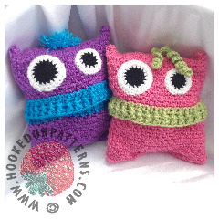 Pyjama Monsters Crochet Pattern
