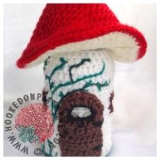 Toadstool Fairy House Crochet Pattern