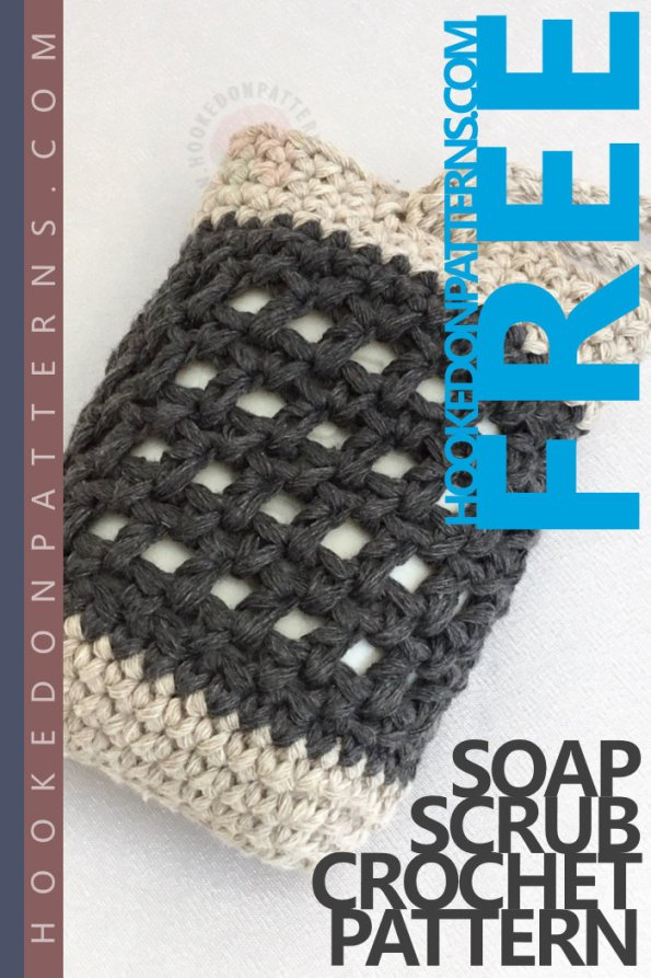 Soap Scrub Free Crochet Pattern