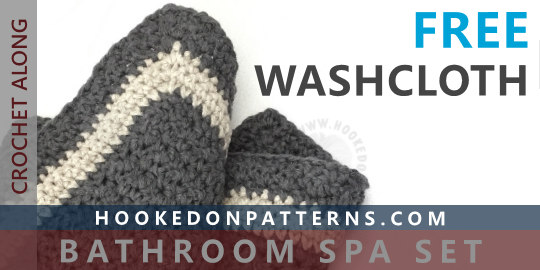 Free Crochet Washcloth Pattern Hooked On Patterns