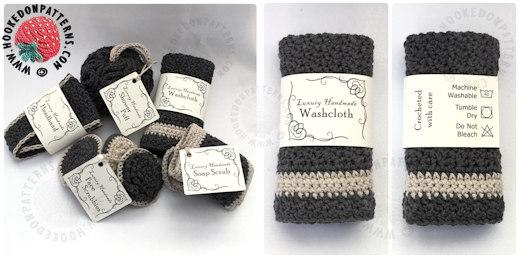 Crochet Bathroom Set Patterns