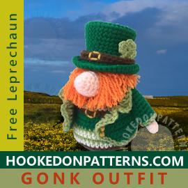 Free Leprechaun St Patricks Day Crochet Pattern