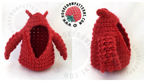 Free Crochet Dragon Pattern Outfit