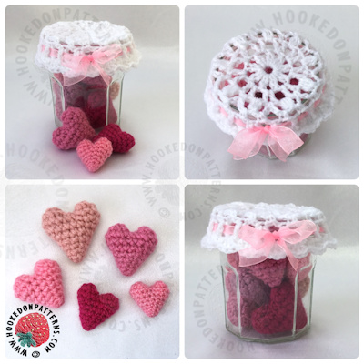 Free Crochet Hearts Pattern Hooked On Patterns