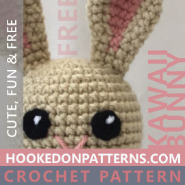 Free Crochet Bunny Pattern - Kawaii Bunnies
