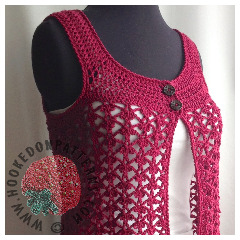 Adina 2 Way Vest Crochet Pattern