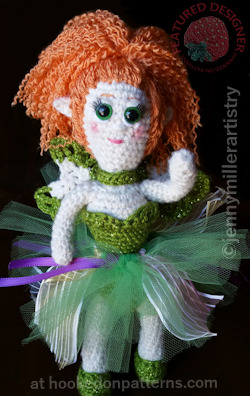 Free Fairy Doll Crochet Pattern