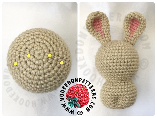 Free Kawaii Easter Bunny Pattern