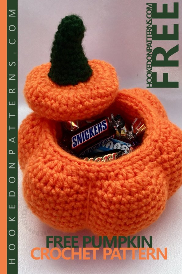 Free PUMPKIN Crochet Pattern for Halloween