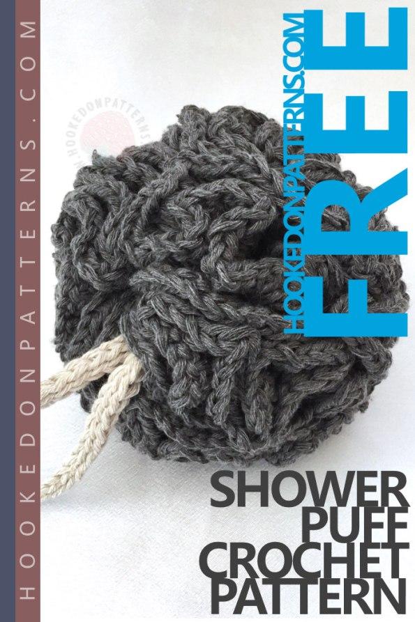 Shower Puff Free Crochet Pattern