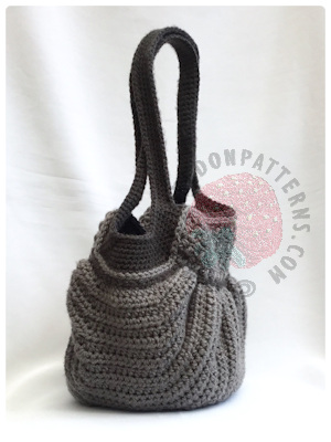 Handbag Crochet Pattern Audrey Hobo Bag Hooked On Patterns Interesting Crochet Hobo Bag Pattern