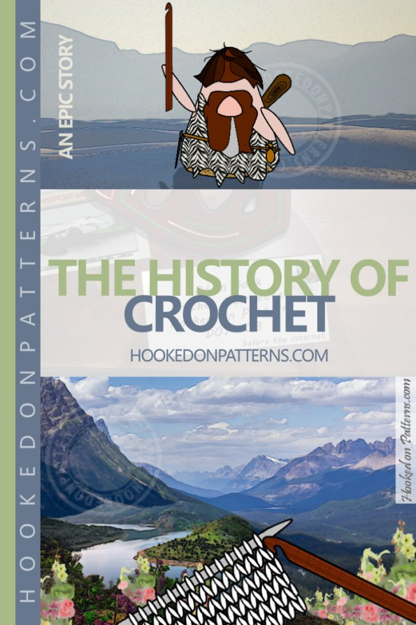 The History Of Crochet - An Epic Story - according to Adam Gonk: Before the dawn of humanity, when the world was young, a Gonk wandered alone upon the dust... Read it here! #crochet #fun #funny