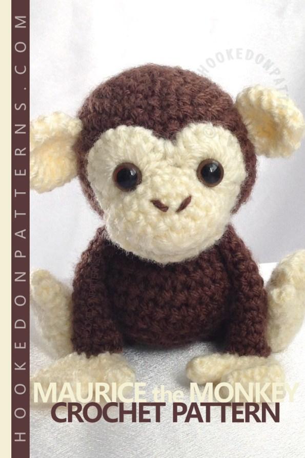 Maurice the Monkey Crochet Pattern