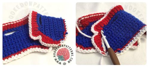 Royal Wedding Celebration Waistcoast Crochet Pattern for Gonk