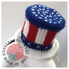 4th of July American Flag Hat