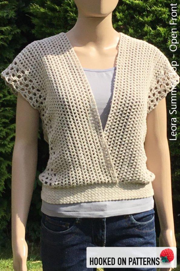 Crochet Summer Top Pattern For A Versatile Vest Hooked On Patterns