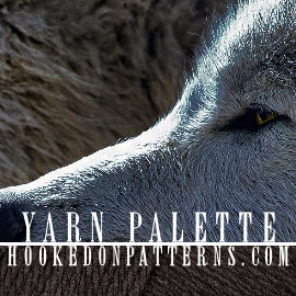 Colour Scheme #4 Grey Wolves Yarn Palette Inspiration