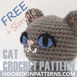 Simple Free Crochet Cat Pattern