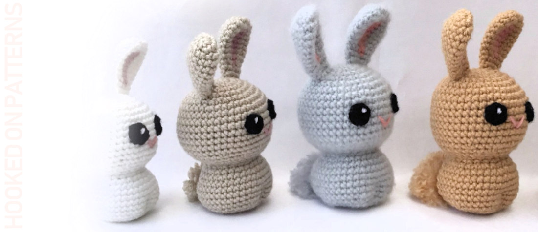 Free Crochet Bunny Pattern  Kawaii Bunnies