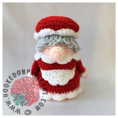Christmas Eve Doll Crochet Pattern