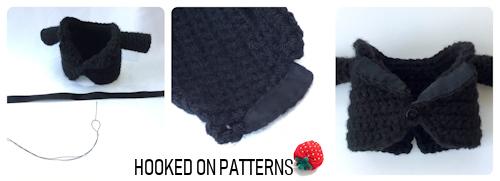 Groom Gonk ribbon trimmed Tuxedo images