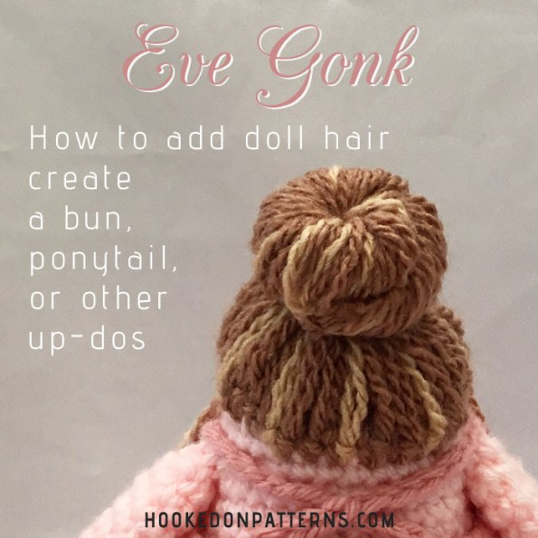 How to make crochet doll hair [tutorial] – The C Side | 595x595