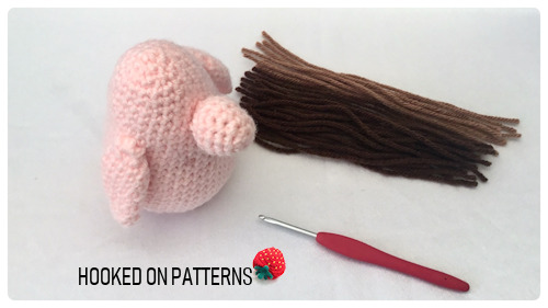 How to add hair to crochet Gonk doll - What you'll need