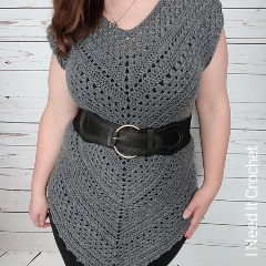 Free Crochet Tops Patterns: Angles Tunic Crochet Pattern