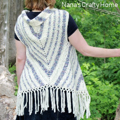 Boho Vest Triangle Trio Crochet Pattern