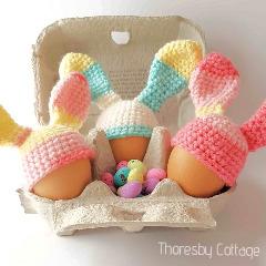 Bunny Egg Cosy Crochet Pattern