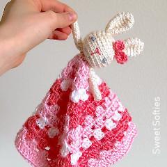 Bunny Lovey Crochet Pattern