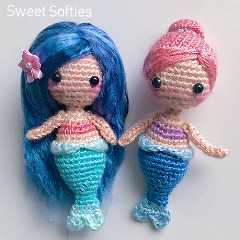 Coral the Mermaid Crochet Pattern