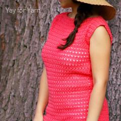 Free Women's Crochet Patterns: Easy Summer Tee Crochet Pattern