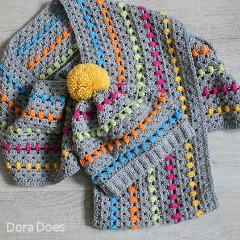 Granny Dot Set Crochet Pattern