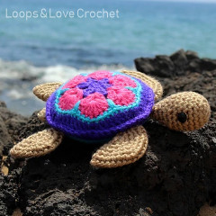 Honu the Sea Turtle Free Crochet Pattern