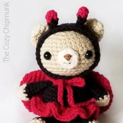 Ladybug Bear Crochet Pattern