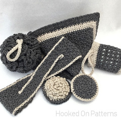 Luxury Bathroom Set Crochet Pattern
