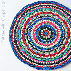 Mandala Placemat Crochet Pattern - free crochet patterns for home