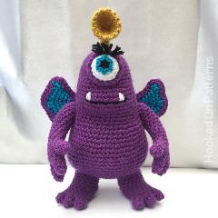 Free Purple Monster Crochet Pattern
