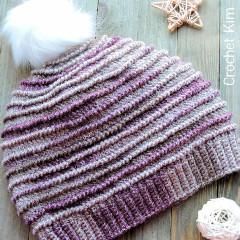 Picture Of A Winter Hats Crochet Pattern: Ridge Beanie