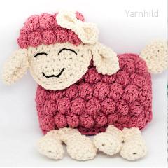 Sheep Ragdoll Free Crochet Pattern