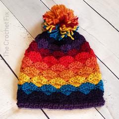 Shelltastic Beanie Free Crochet Pattern