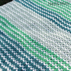 Spring to Life Free Blanket Crochet Pattern