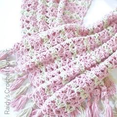 Summer Iris Shawl Free Crochet Pattern