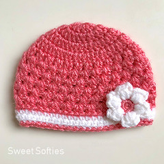 Baby Springtime Beanie Crochet Pattern