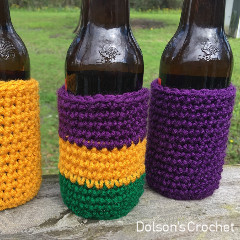 Beer Coozie Free Crochet Pattern